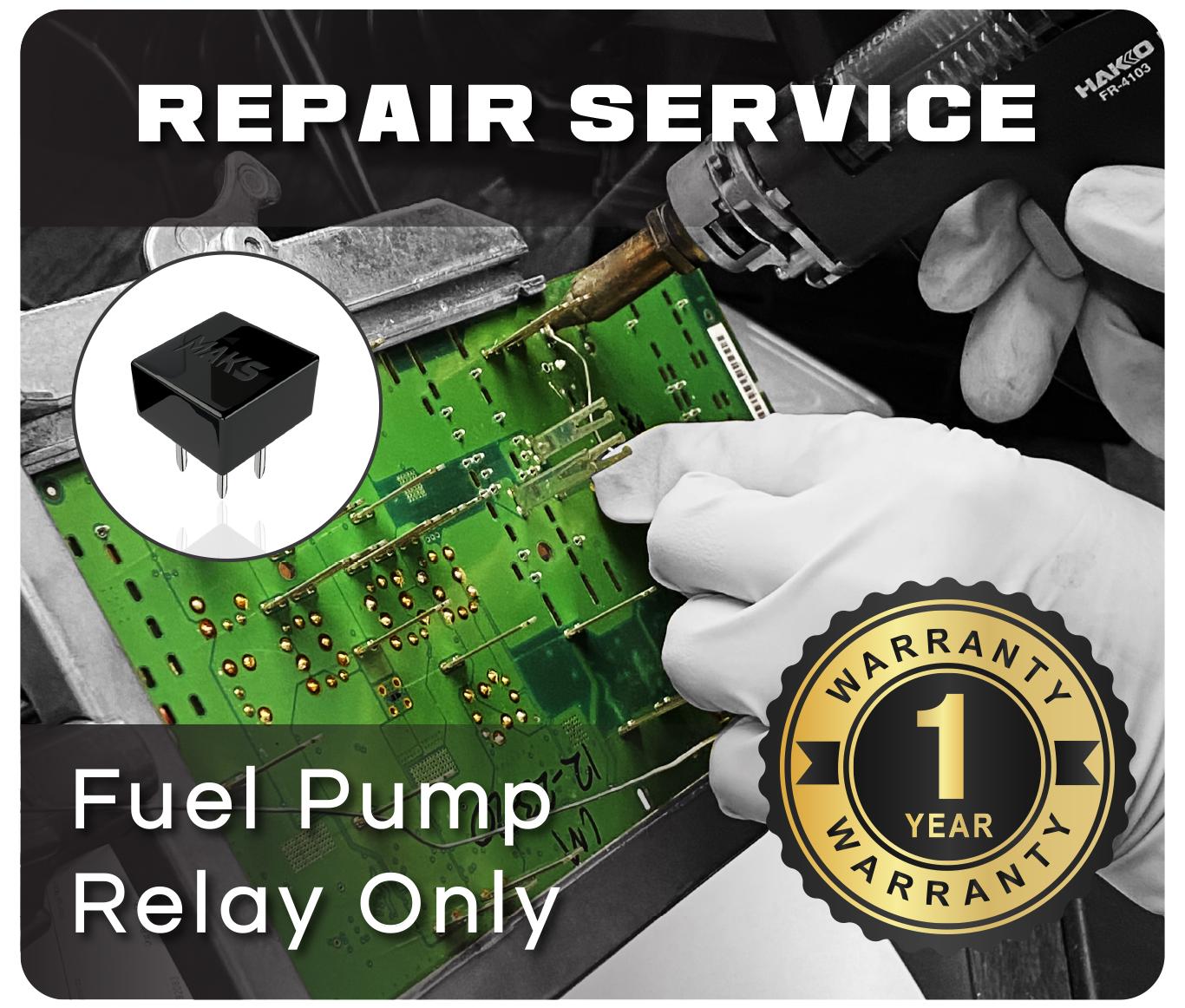 Tipm Repair Replace Fuel Pump Relay Mak S