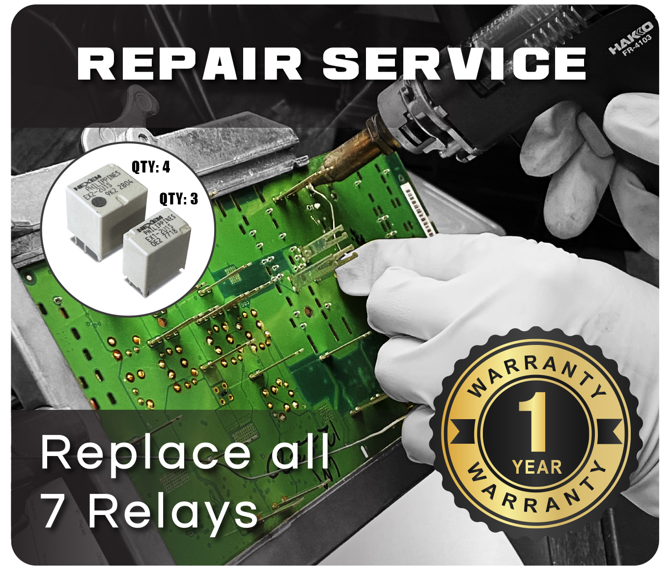 Replace All 7 Relays
