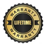 MAK's Lifetime Warranty Badge